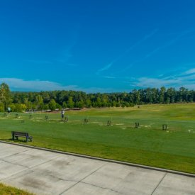 Extensive practice facility